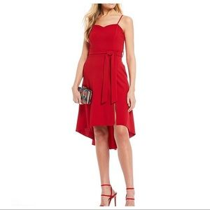 Honey and Rosie Spaghetti Straps High-Low Dress